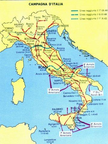 Cartina Italia Termoli.Storia Xxi Secolo Campagna D Italia 1943 1945